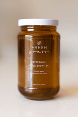 Peppermint Cold Brew Tea - Fresh Press