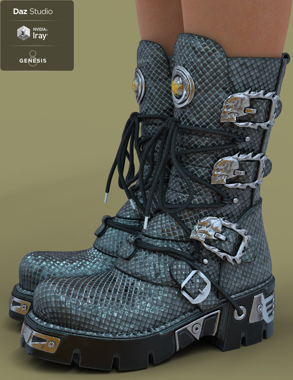 SW Boots for Genesis 8