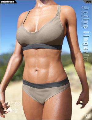 Active Lingerie for Genesis 8 Female(s)