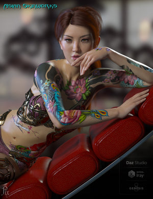 Asian SkinWorks L.I.E. Tattoos
