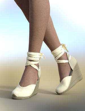 Espadrilles for Genesis 8 Female(s)