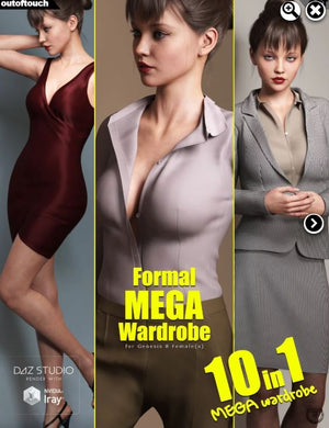 Formal MEGA Wardrobe for Genesis 8 Female(s)