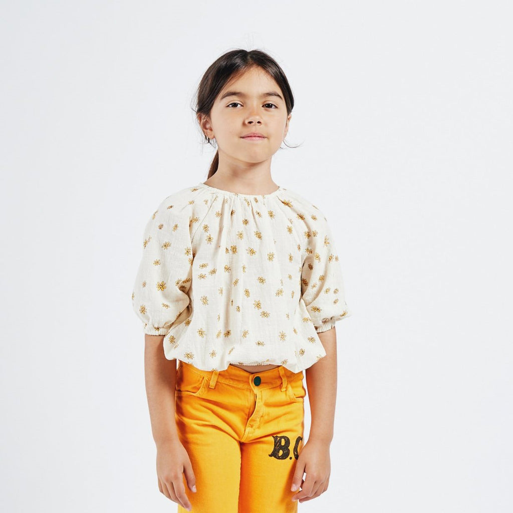 Bobo Choses Bobo Choses | Blouse - All Over Daisy - Lila & Huxley