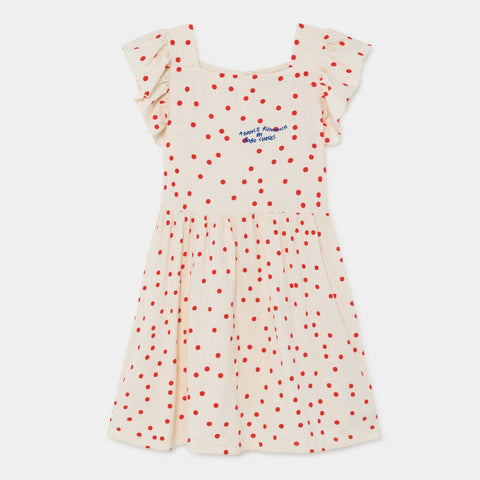 Buttons Dress ­- Clearly Confused