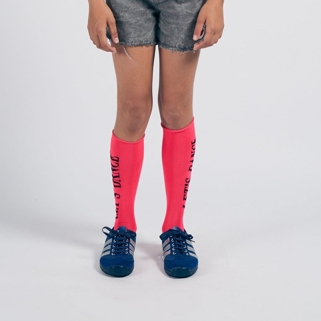 Bobo Choses Bobo Choses | Knee High Socks - Lets Dance - Lila & Huxley
