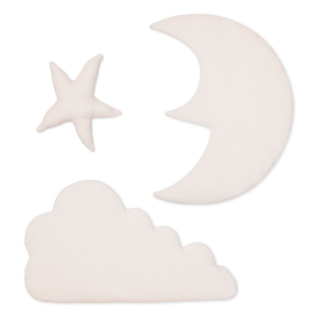 Wall Decoration Moon/Star/Cloud Rose