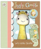 Little Me Jiggly Giraffe Rattle Set - Lila & Huxley