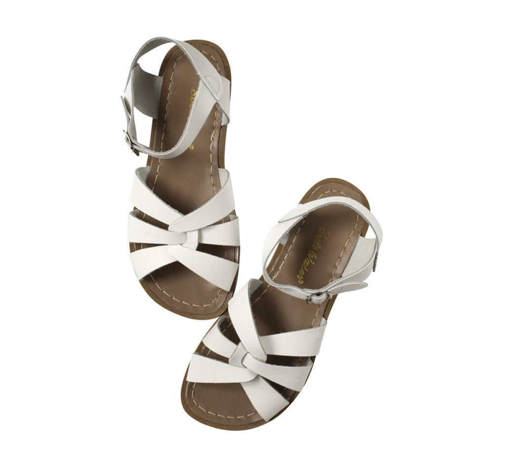 Salt Water Sandals Original White