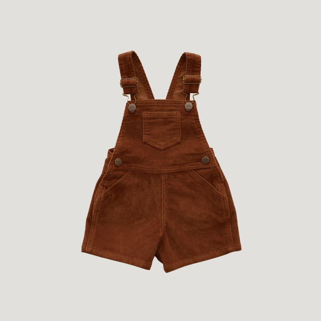 Jamie Kay Jamie Kay | Reign Short Overall - Gingerbread - Lila & Huxley