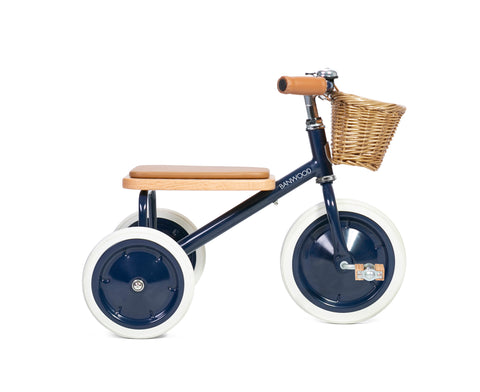 BANWOOD FIRST GO Balance Bike Navy Blue