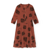 Bobo Choses Buttons Dress ­- Clearly Confused - Lila & Huxley