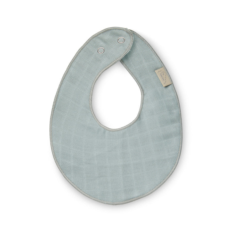 Teething Muslin Bib Petroleum
