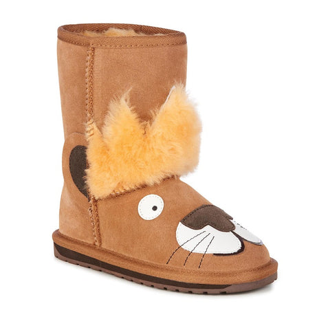 Wallaby Boot Mini Chestnut