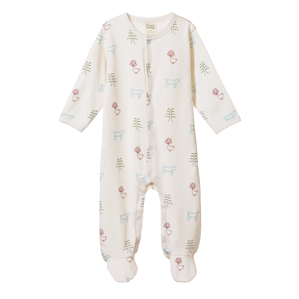 Nature Baby Stretch & Grow Nature Baby Print - Lila & Huxley