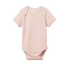 Short Sleeve Bodysuit Rose Bud