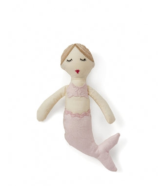 Milla Mermaid Rattle Pink