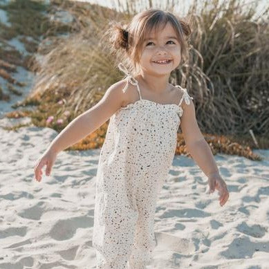 Rylee & Cru | Bubble Jumpsuit - Terazzo