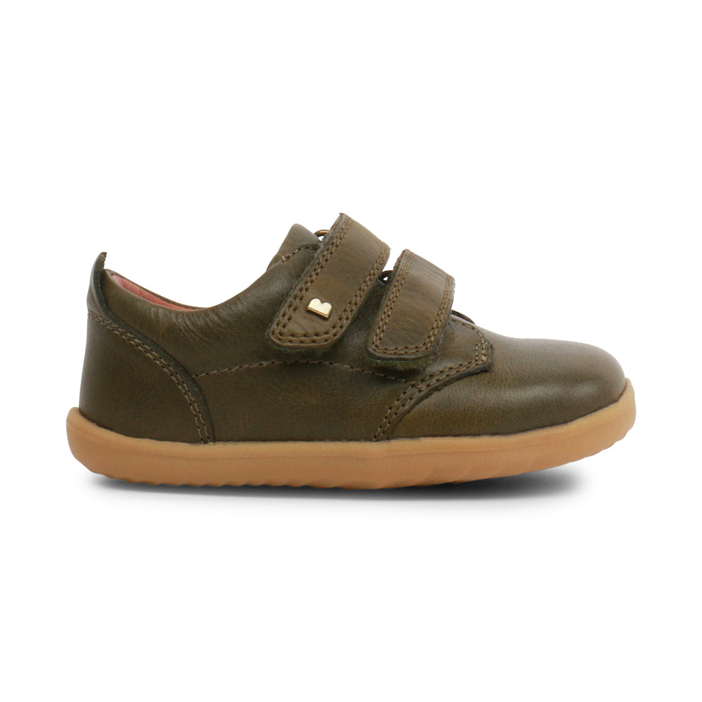 Bobux SU Port Dress Shoe Olive - Lila & Huxley