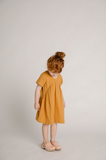 Olli Ella - Clover Toddler Dress Gold - Lila & Huxley