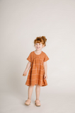 Clover Toddlers Dress Rust