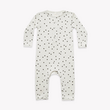 Quincy Mae - Ribbed Baby Jumpsuit Pebble - Lila & Huxley