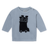 Bobo Choses Baby Round Neck Sweatshirt - Flower Bus - Lila & Huxley
