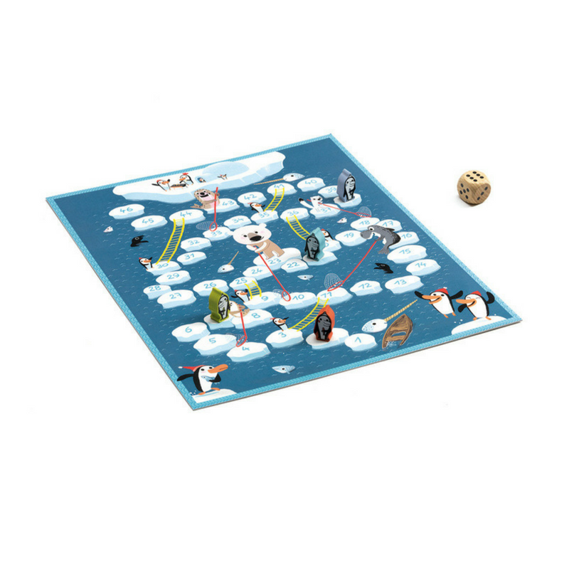 Game Board Snakes and Ladders