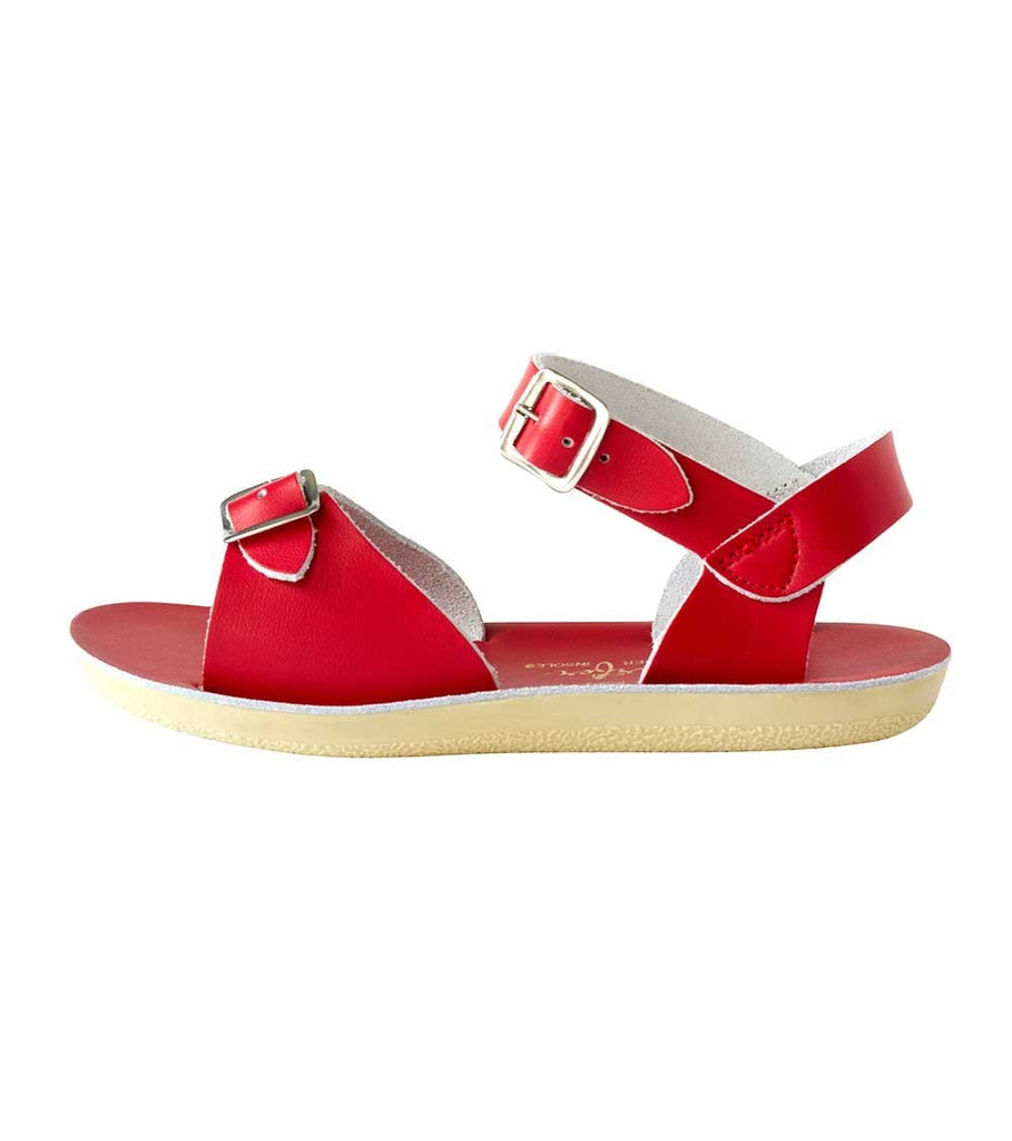 Salt Water Salt Water Sandals Sun-San Surfer Red - Lila & Huxley