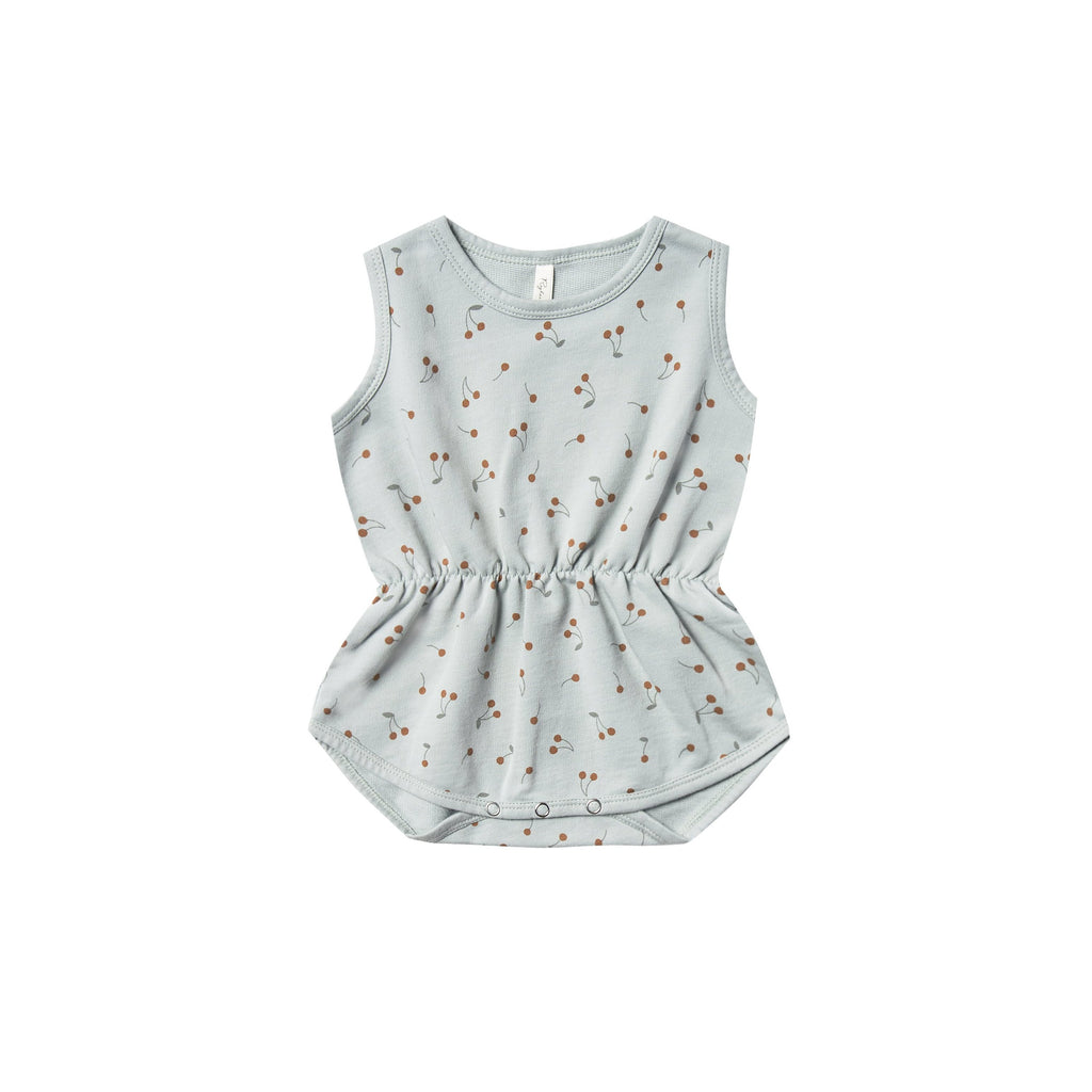 Rylee & Cru Rylee & Cru | Cinch Playsuit - Cherries Sky - Lila & Huxley