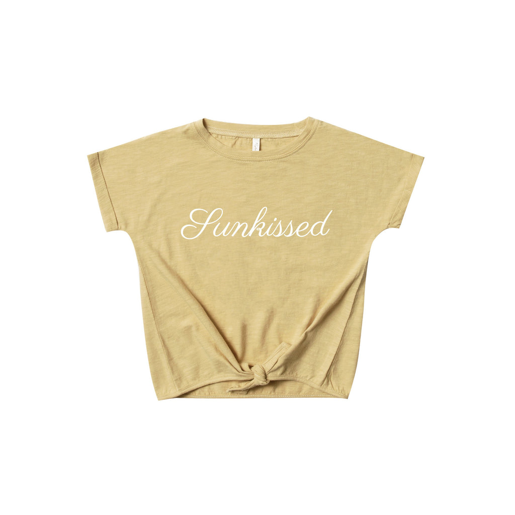 Rylee & Cru Rylee & Cru | Knotted Tee - Sunkissed Citron - Lila & Huxley