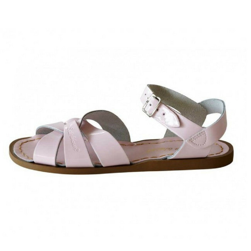 Salt Water Salt Water Sandals Original Shiny Pink - Lila & Huxley