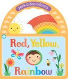 Red Yellow Rainbow Board Book