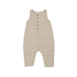 Stripes Sleeveless Jumpsuit Vanilla/Grey