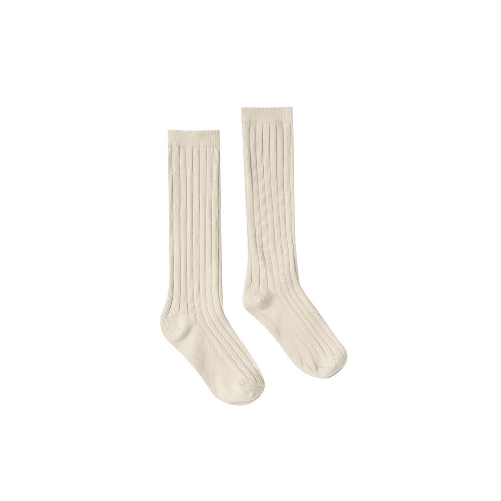 Rylee & Cru Solid Knee Socks Wheat - Lila & Huxley