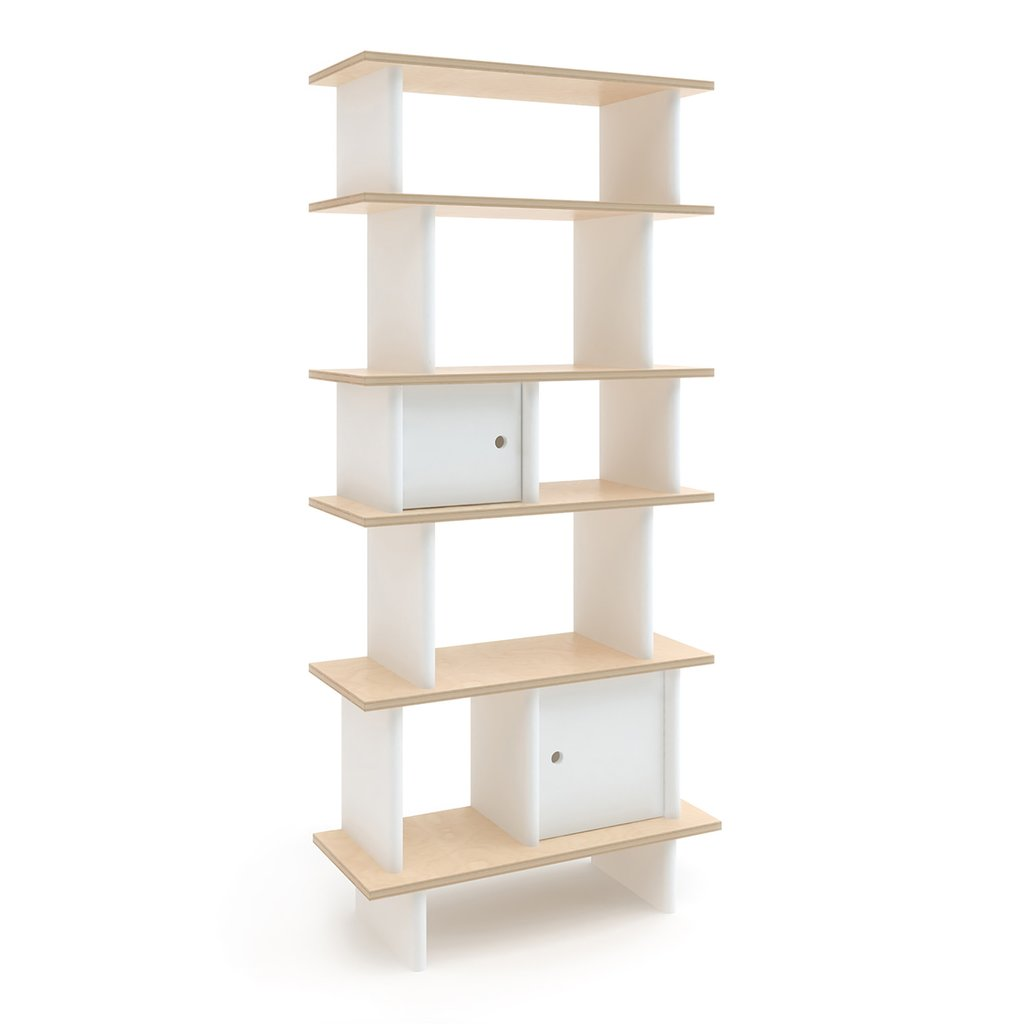 Vertigal Mini Library Birch/White