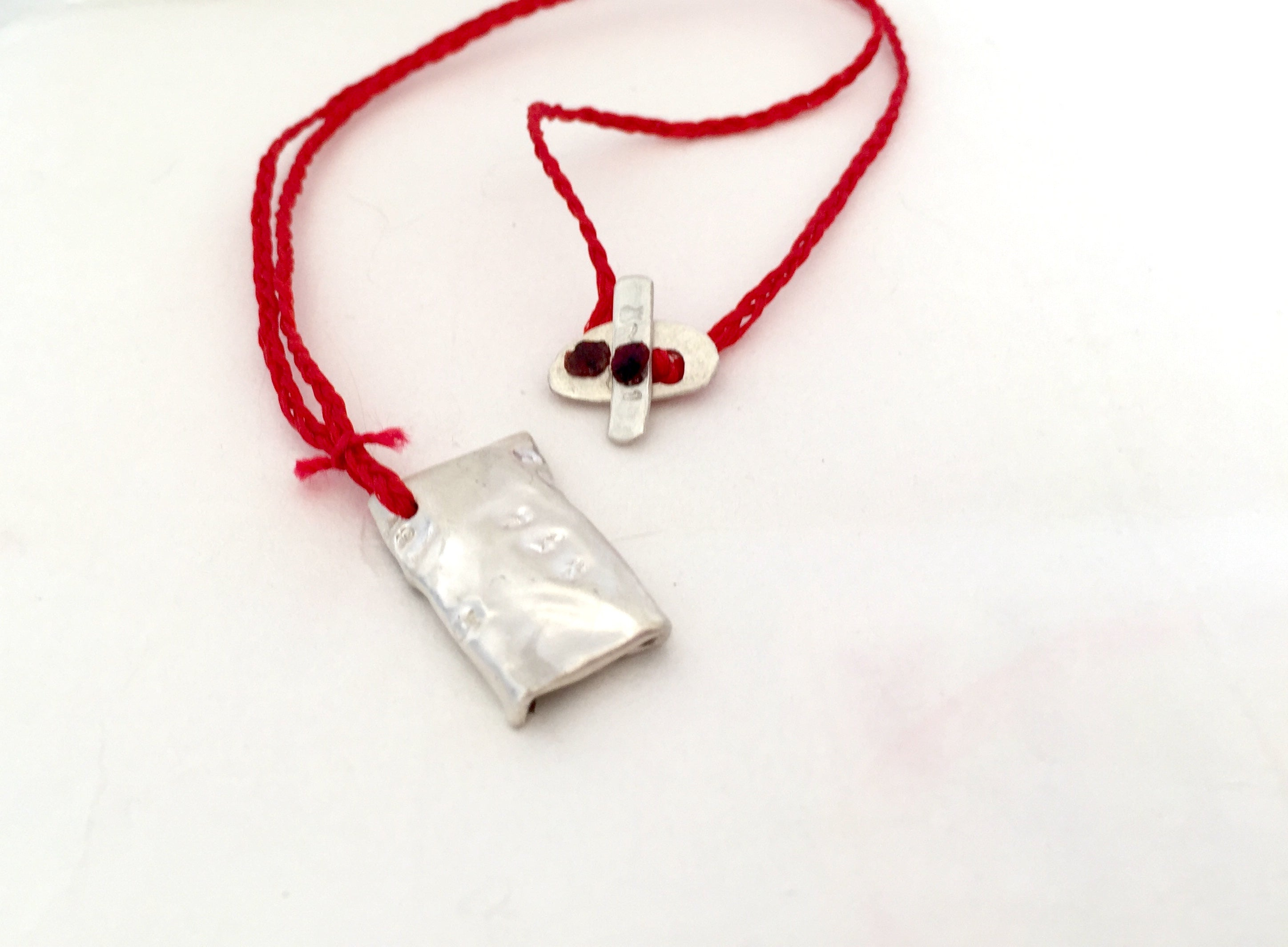 Travelers Prayer Amulet Necklace