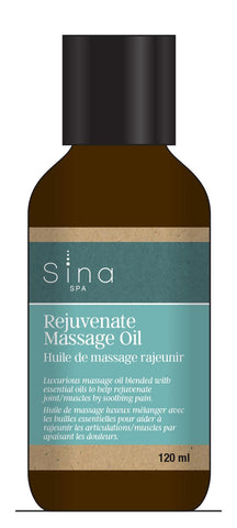 Essential Oils Massage Oil for Sore and Achy Muscles and Joints by Sina
