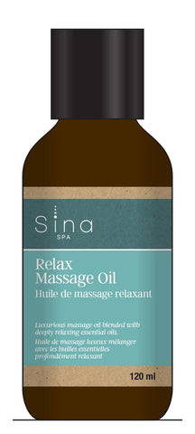 Essential Oils Massage Oil for Relaxation and Calm by Sina