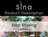 "Sina Stop Snoring Essential Oils Patch (the Sina ""Button"")"