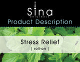 Sina Essential Oils Stress Relief Roll-on
