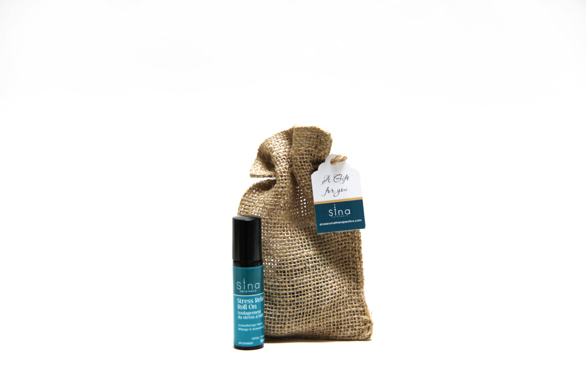 Essential Oils Custom Blend Aromatherapy Gift Bag Single for Stress, Anxiety and Tension Relief