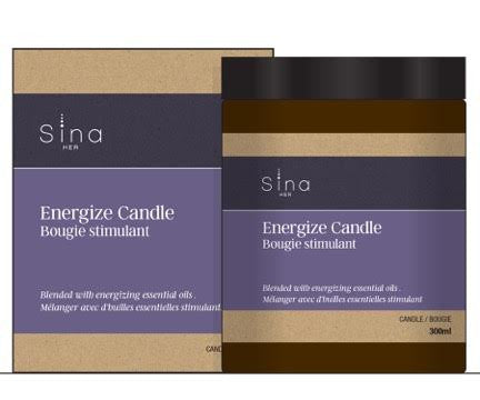 Essential Oils Candle for Energy and Relief of Fatigue