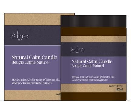 Natural Calm Candle (1 x 300 ml)