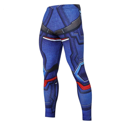 Leggings fitness Captain America modern