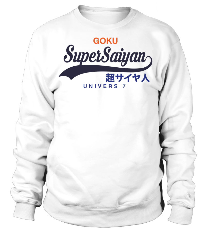Sweat shirt Goku Super Saiyan Univers 7