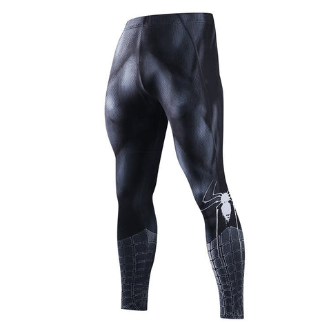 Leggings fitness noir Spider-Man
