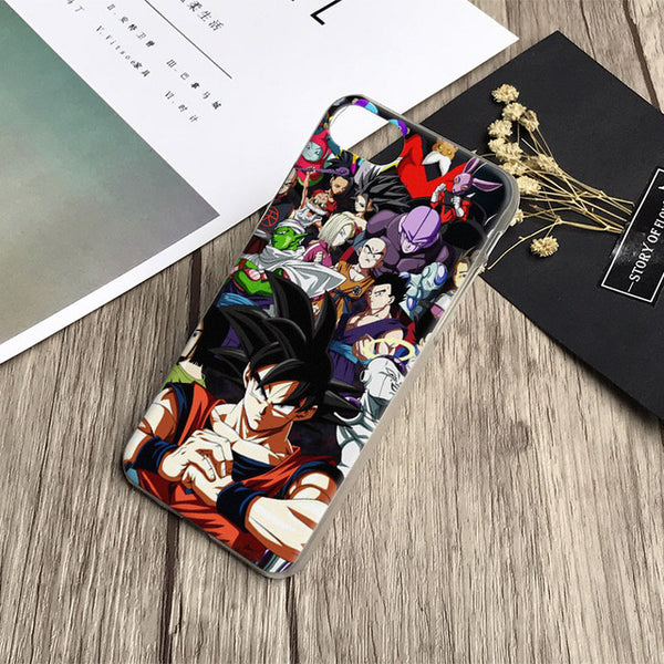 Coque de téléphone mosaique Dragon Ball Super pour Apple iPhone
