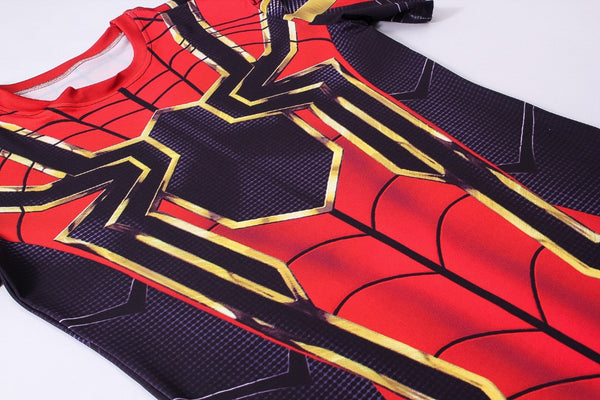 Tee shirt fitness Iron Spider
