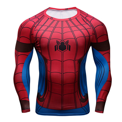 Tee shirt fitness manches longues Spider-Man Homecoming