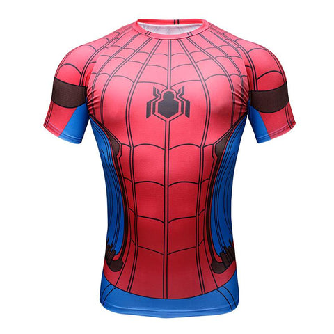 Tee shirt fitness Spider-Man Homecoming